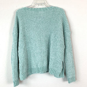 Aerie American Eagle AE cropped chenille sweater